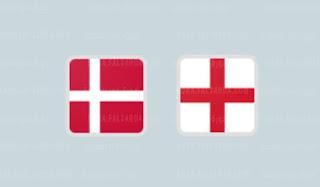 موعد مباراة انجلترا والدنمارك في نصف نهائي يورو 2020.