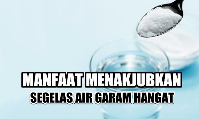 Coba Minum Segelas Air Garam Hangat Tiap Hari, Inilah Hal Luar Biasa yang Akan Dirasakan Tubuh, Sungguh Tak Terduga!