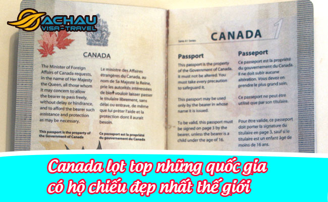 canada lot top nhung quoc gia co ho chieu dep nhat the gioi 1