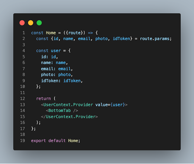 Cara passing data dengan Context Provider dan useContext
