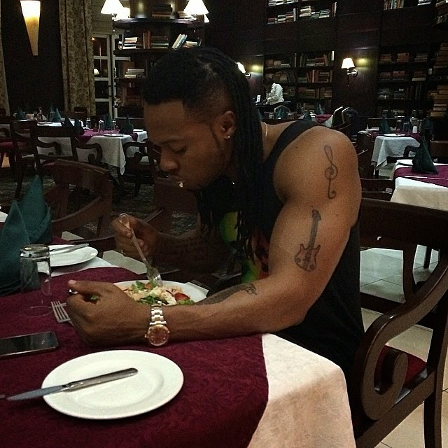 Flavour N'Abania Shares New Photo