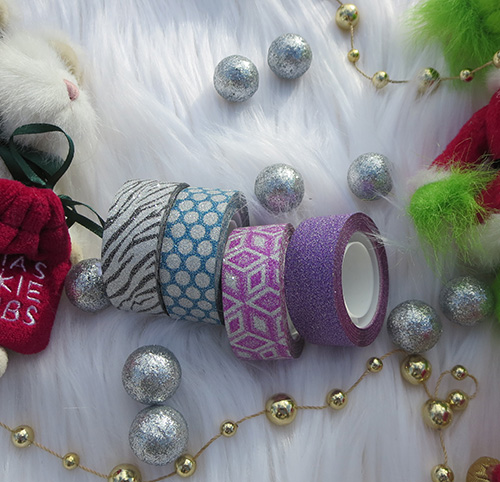Deck the Halls with Seal-It Glitter Tape ~ #Review #Christmas #2016GiftGuide