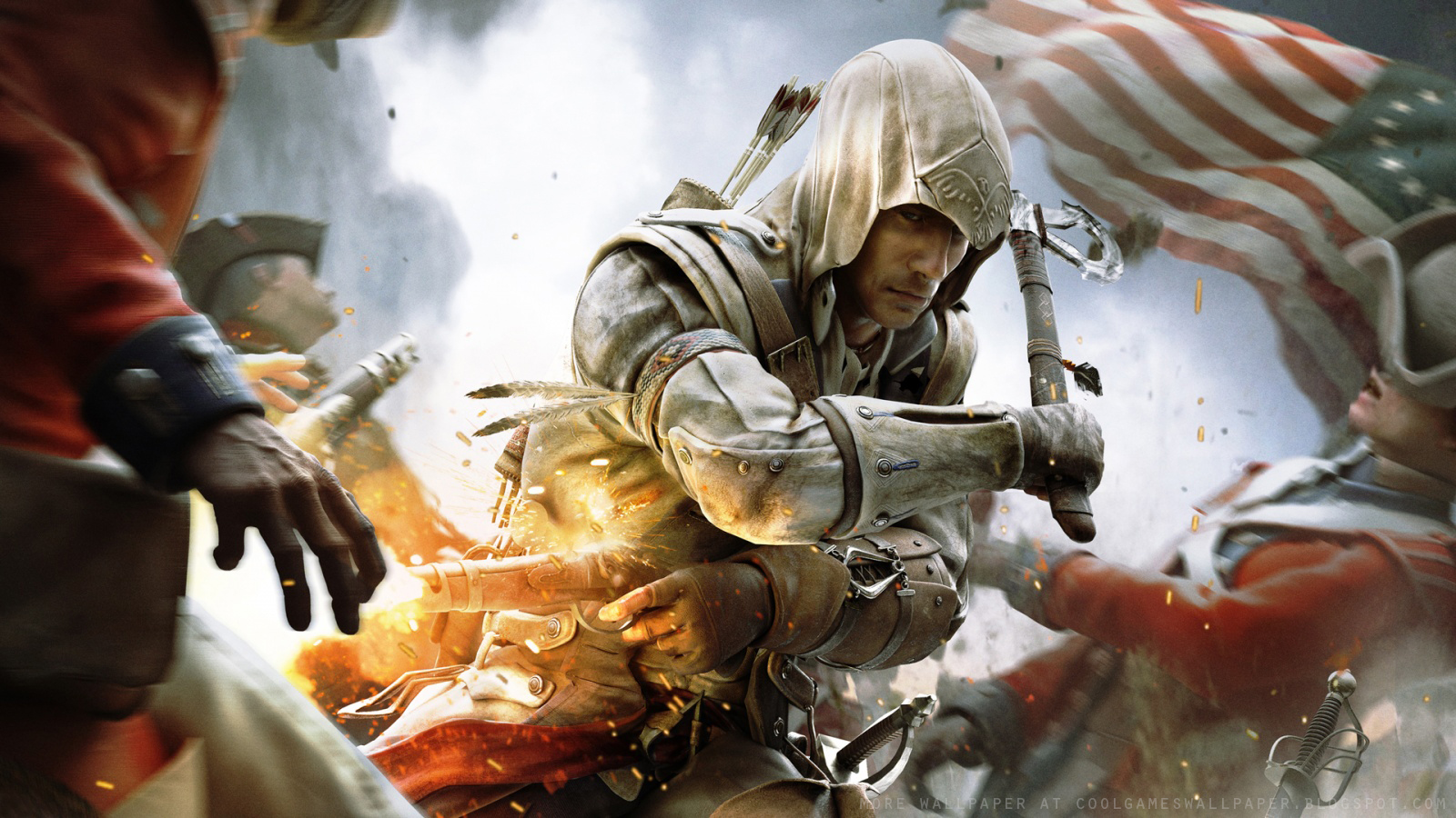 Assassin S Creed 3 Wallpaper 1 Cool Games Wallpaper