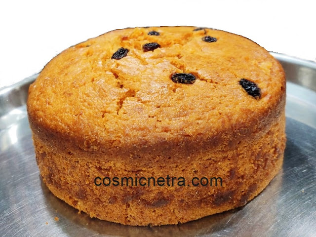 carrot cake gaajar cake- cosmicnetra.com
