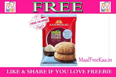 Free Sample Aashirvaad Multi Millet & Ragi Atta