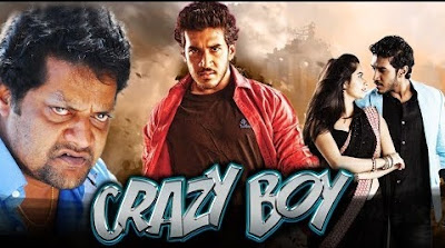 Poster Of Crazy Boy Full Movie in Hindi HD Free download Watch Online 720P HD
