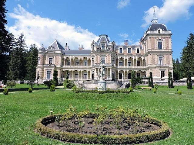 villa hermes vienna facciata principale