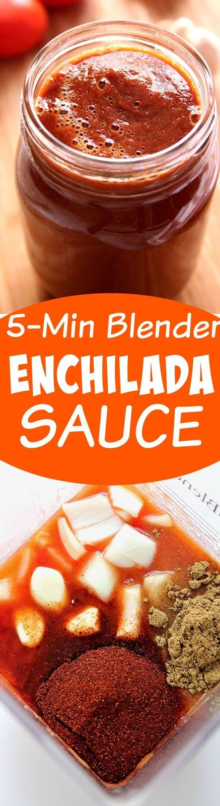 5-Minute Blender Enchilada Sauce Recipe