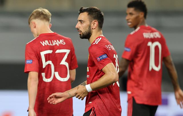 إشبيلية يواجه مانشستر يونايتد بنصف نهائي الدوري الأوروبي