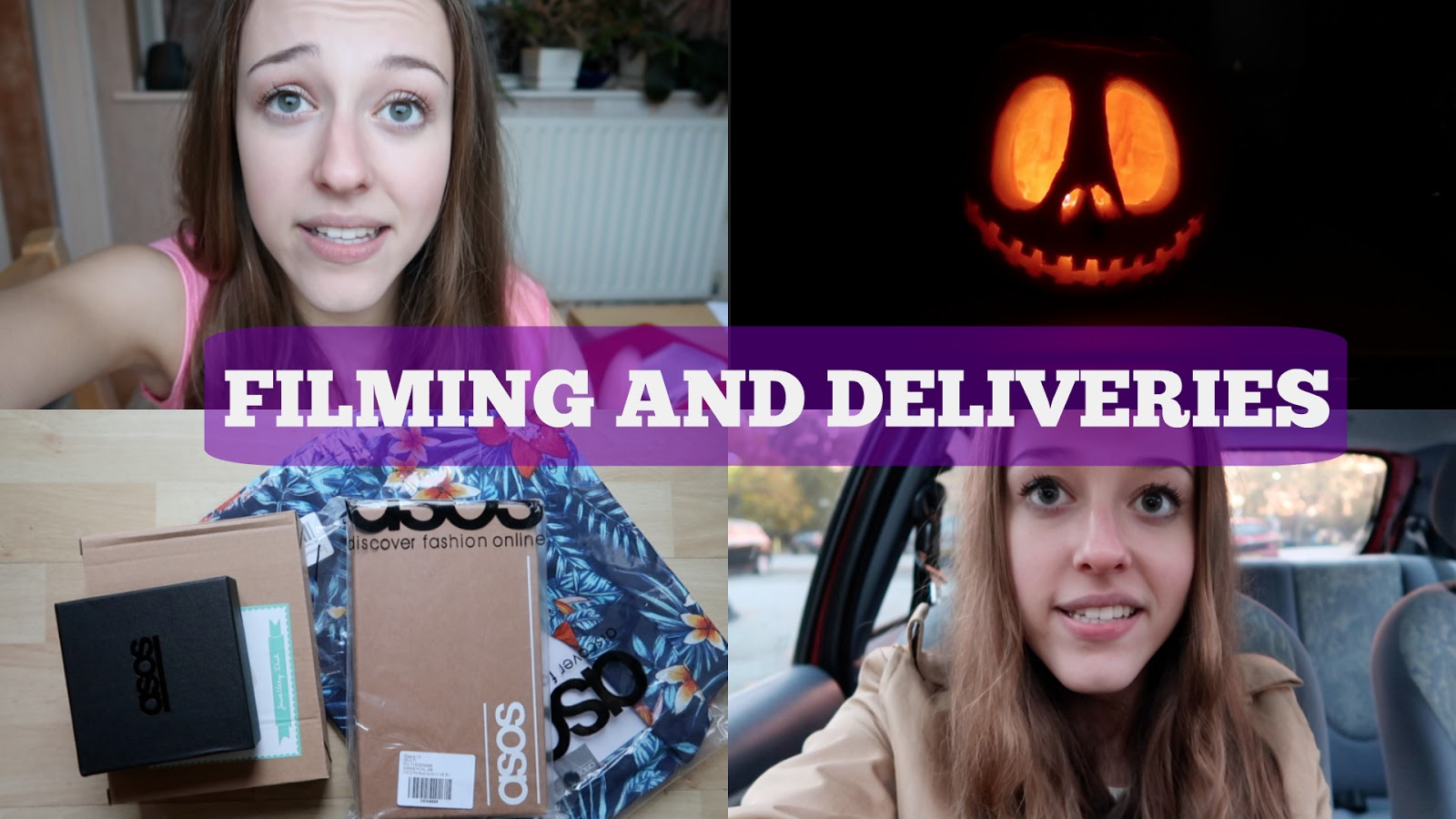 Weekly Vlog #1 | Filming and Deliveries