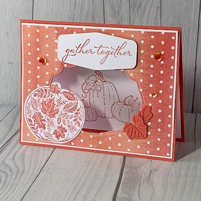 Fall-Themed Greeting Card using Pretty Pumpkins Stamp Set