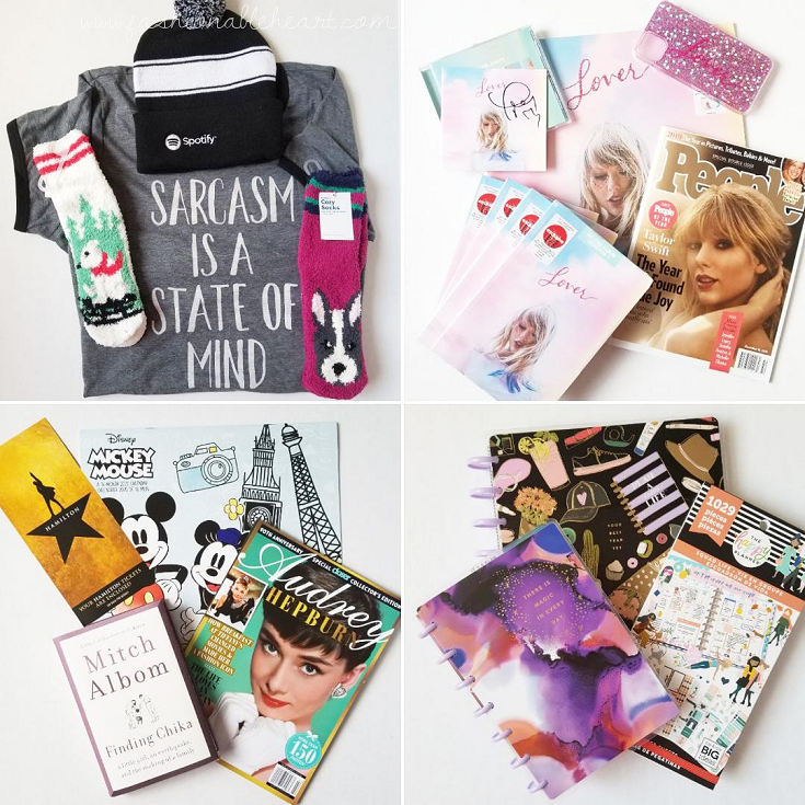 bloggersca, bbloggerca, lbloggers, lifestyle blog, canadian blog, southern blogger, what i got for christmas, 2019, gifts, christmas gifts, holiday gifts, torrid, old navy, socks, spotify, taylor swift, lover album, hamilton, disney, audrey hepburn, the happy planner, horizontal planner