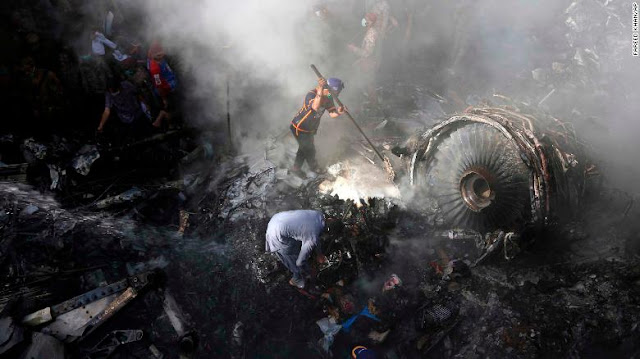 Pakistani Flight Crash