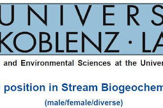 PhD position in Stream Biogeochemistry and sediment transport at University of Koblenz-Landau