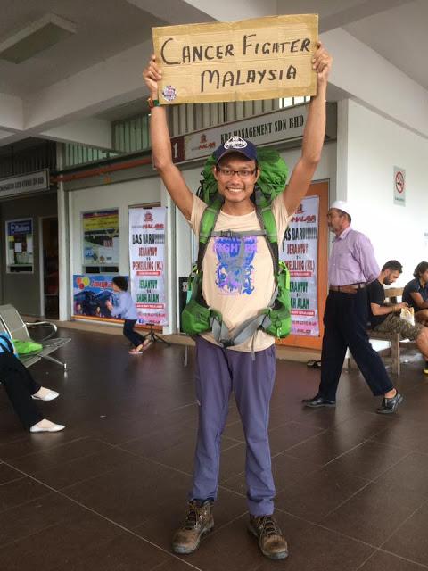 ZAKI PEJUANG CANCER JELAJAH BORNEO DENGAN RM1