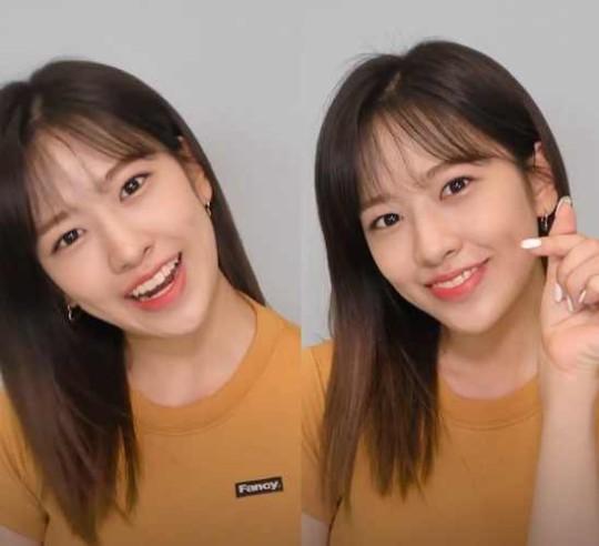 아이즈원 안유진