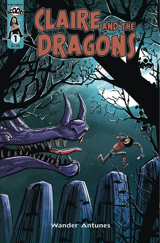 Cover of Claire and the Dragons #1