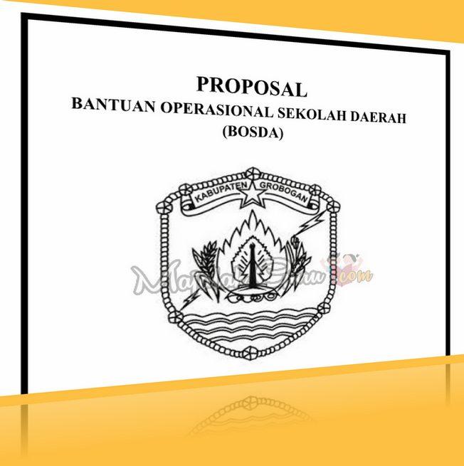 Format Contoh Proposal BOS DAERAH