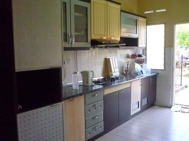 Kombinasi Lemari Dan Meja Kitchen Ruang Dapur Rumah Jpg