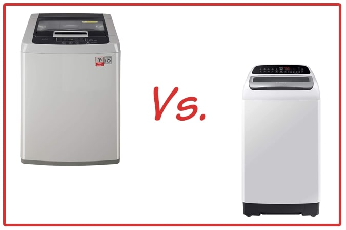 LG T7585NDDLGA vs Samsung WA65T4262GG/TL Washing Machine Comparison