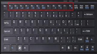 cara masuk bios laptop HP dengan menekan tombol F9
