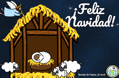 Spanish holiday e card free download
