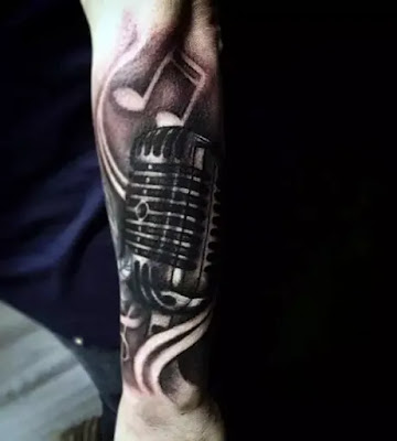 New Tattoo designs Music Note Tattoos For Men Auditory Ink