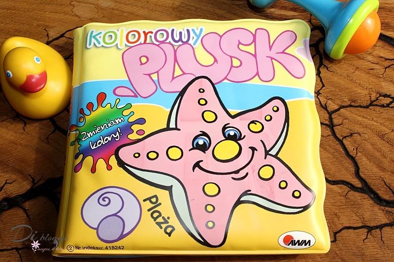 Plaża. Kolorowy plusk - książeczka do kąpieli zmieniająca kolory - recenzja