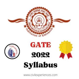 Gate 2022 Syllabus For Civil Engineering | GATE 2022 Exam Pattern | Download GATE 2021 Exam Paper Answer Key