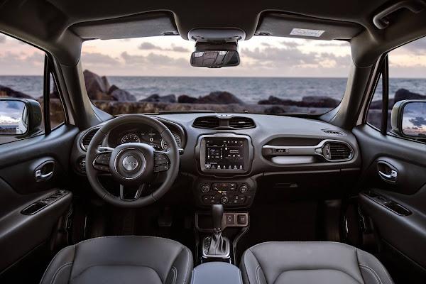 Jeep Renegade 2022 - interior - painel