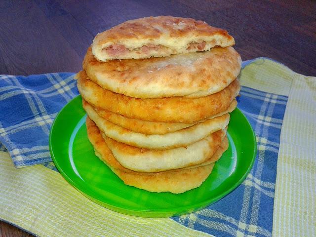 рецепт смажених пиріжків