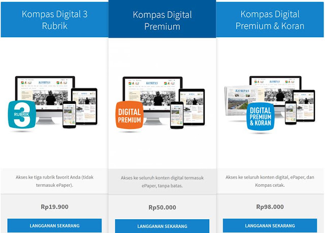 Langganan Kompas Digital Premium