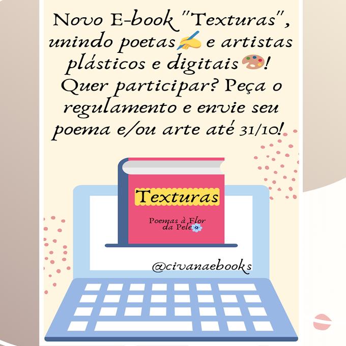 E-book Texturas, venha Participar!!