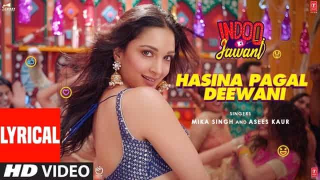 हसीना पागल दीवानी Hasina Pagal Deewani Lyrics In Hindi