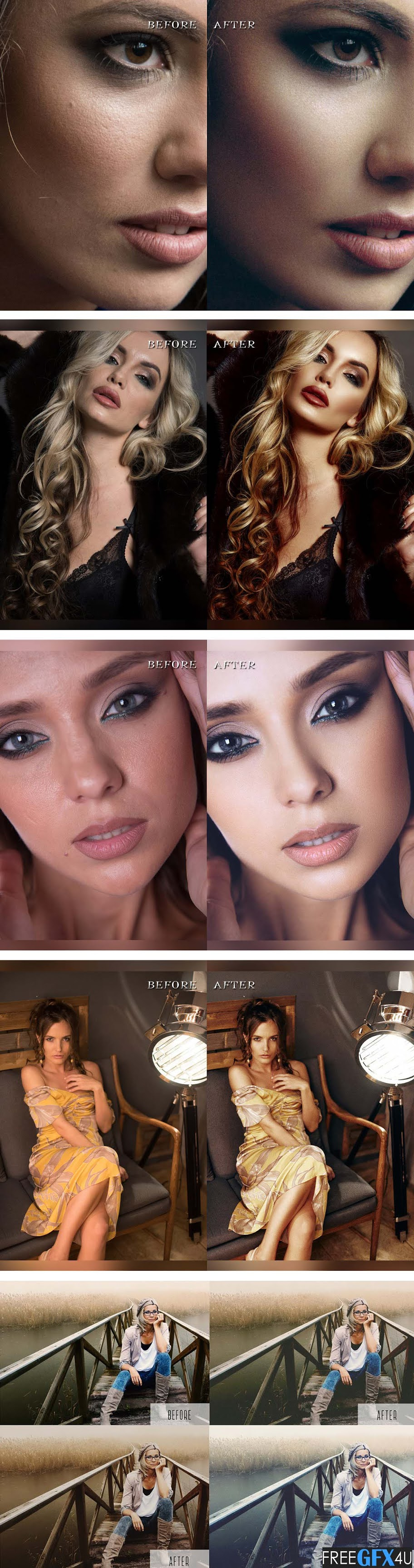 23 Pro Portrait Retouching Photoshop