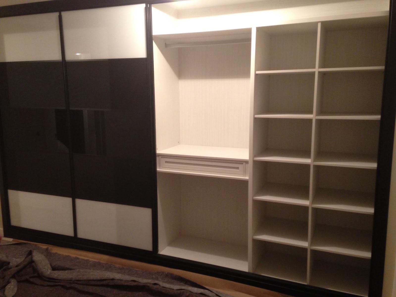 Dise o de interior de armarios empotrados ch decora for Distribucion de armarios empotrados por dentro