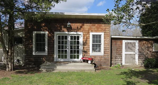 Bonus out building with cedar shake exterior