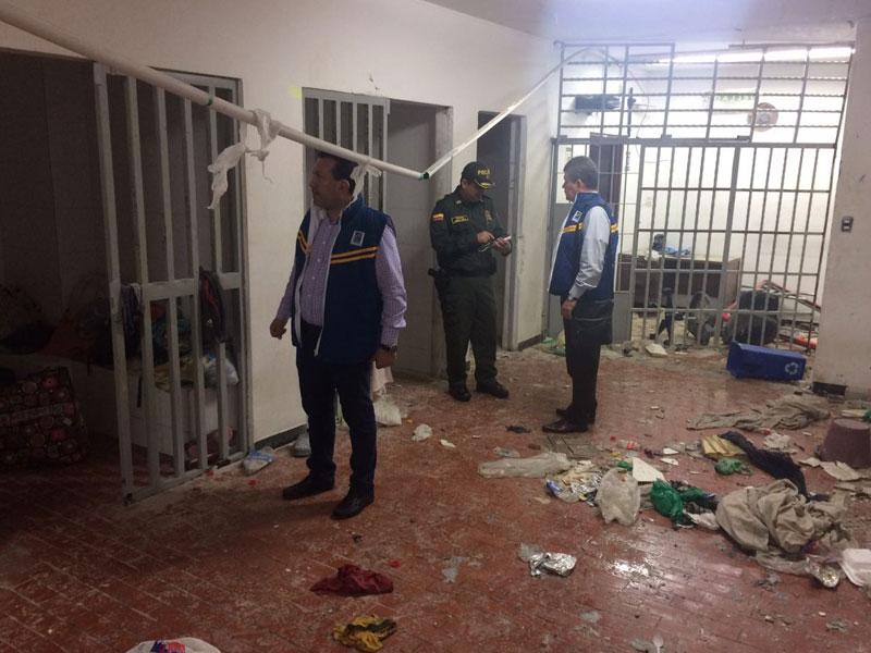 Asonal Judicial SI Bucaramanga contra el hacinamiento de detenidos en el Palacio de Justicia