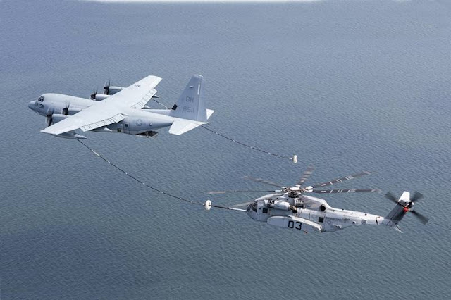 CH-53K air refueling tests
