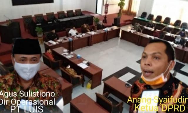 Pemilik Tambak Udang PT  LUIS, Audensi di DPRD Beberkan Fakta Kebenaran