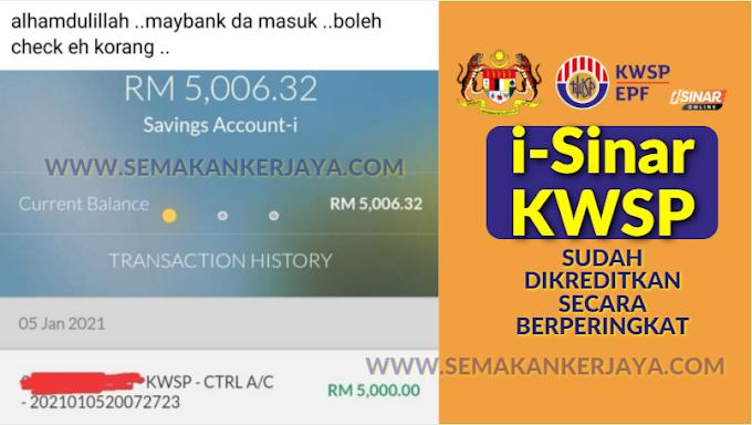 Info KWSP: i-Sinar KWSP Sudah Dikreditkan Secara Berperingkat
