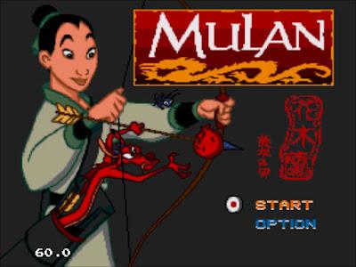 【MD】花木蘭(Mulan),女扮男裝代父從軍動作遊戲!