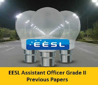 EESL Assistant Officer Grade II Previous Papers