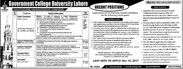 Education Jobs, Jobs in Lahore, Jobs in Punjab,
