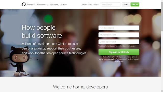 Cara Upload Javascript Gratis melalui Github.com