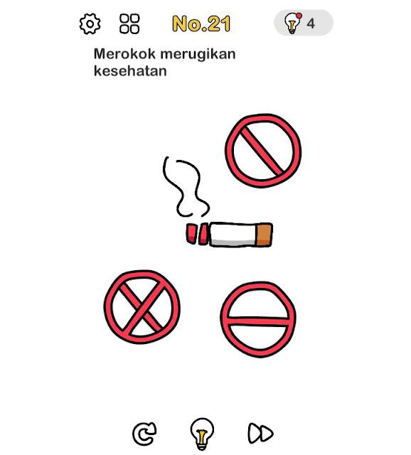 Merokok merugikan kesehatan