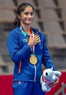 Vinesh Phogat wins Gold at Yasur Dogu International