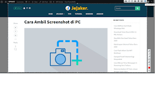 cara melakukan screenshot di pc windows