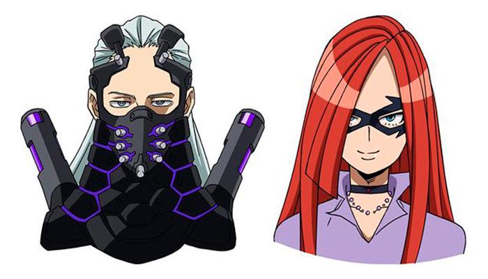 "My Hero Academia THE MOVIE - Heroes: Rising"" - personajes"
