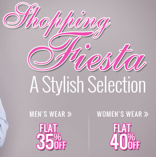 Flat 35% Additional Off on Men's Wear and 40% Additional Off on Women's Wear at HomeShop18